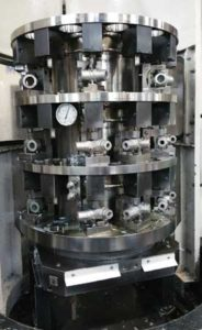 Hydraulic fixturing components provide size and durability