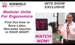 Modular Units for Ergonomic Assembly, An IMTS Exclusive. Watch Now!