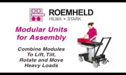Lifting and Positioning Assembly Products from Roemheld.